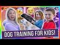 DOG TRAINING FOR KIDS!