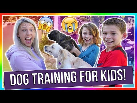 dog-training-for-kids!