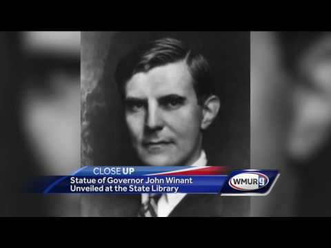 CloseUp: Statue of Gov. John Winant unveiled in Concord