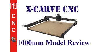 X-carve Cnc 1000mm Model Review For Inventables