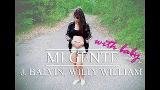 J. Balvin, Willy William - Mi Gente // Dance choreography with my baby // TST Niki & Noella baby