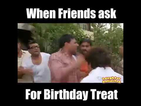 When Friends Ask For Birthday Party Funny Youtube