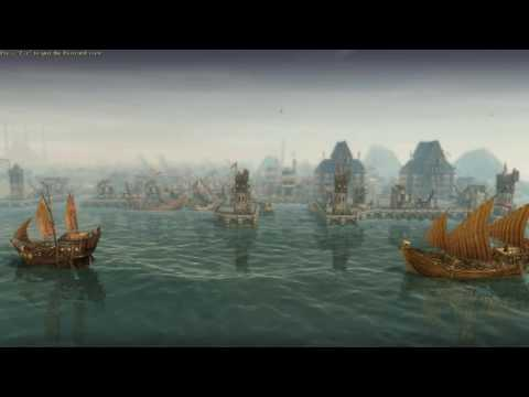Anno 1404 Busy Oriental Harbour