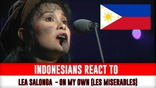 Indonesians React To   Lea Salonga  performs On My Own Les Misérables