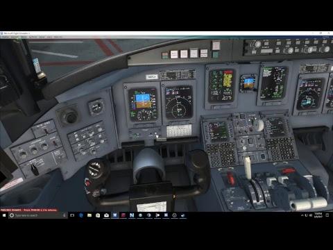 FSX-SE: First Look! Aerosoft CRJ | Memphis-Atlanta with a Real CRJ Pilot!