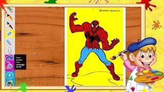 Coloriage Spider Man I Coloriages pour enfants