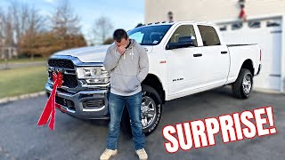 SURPRISING MY HUSBAND WITH HIS DREAM CAR *HE CRIED*