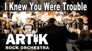 Taylor Swift - I Knew You Were Trouble Cover By Artik Music School Rock Orchestra