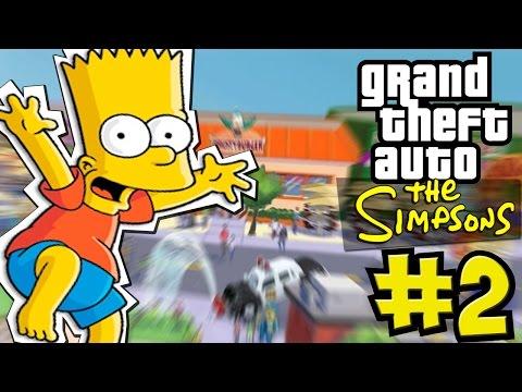 Прохождение The Simpsons: Hit and Run