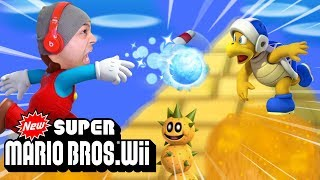 THIS GAME HARDER THAN I THOUGHT... PAUSE. [NEW SUPER MARIO BROS. Wii] [#02]