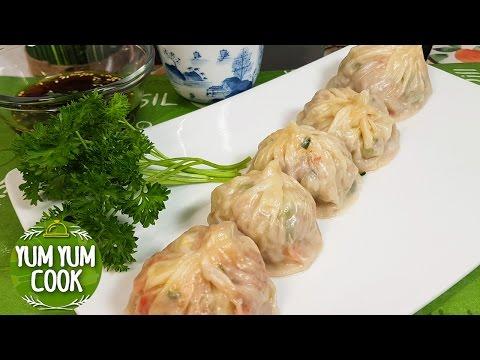 Steamed Beef Dumplings | How To Make Beef Dumplings At Home | YumYumCook