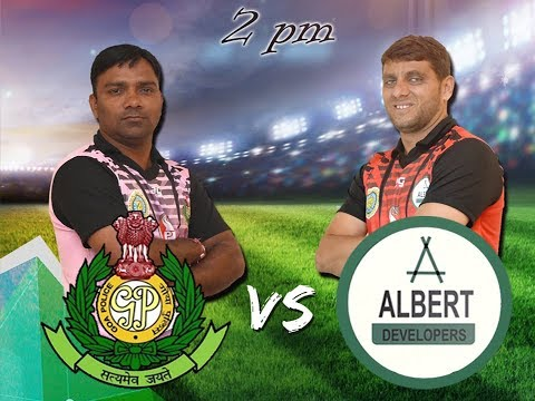 GENO PRUDENT T20 CUP | GOA POLICE V/S ALBERT DEVELOPERS