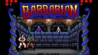 Barbarian - The Ultimate Warrior Longplay (Amiga) [50 FPS]