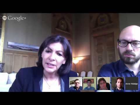 1er Hangout avec la Maire de Paris