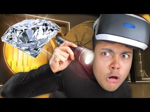 STEAL THE DIAMOND IN VIRTUAL REALITY 💎 !!! (PSVR - The London Heist) - PlayStation Virtual Reality