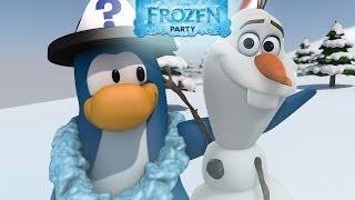 Trucos de la Fiesta de FROZEN en Club Penguin 2014