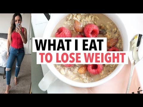 What I eat in a day TO LOSE WEIGHT (go-to weight loss meals/ healthy recipe ideas)