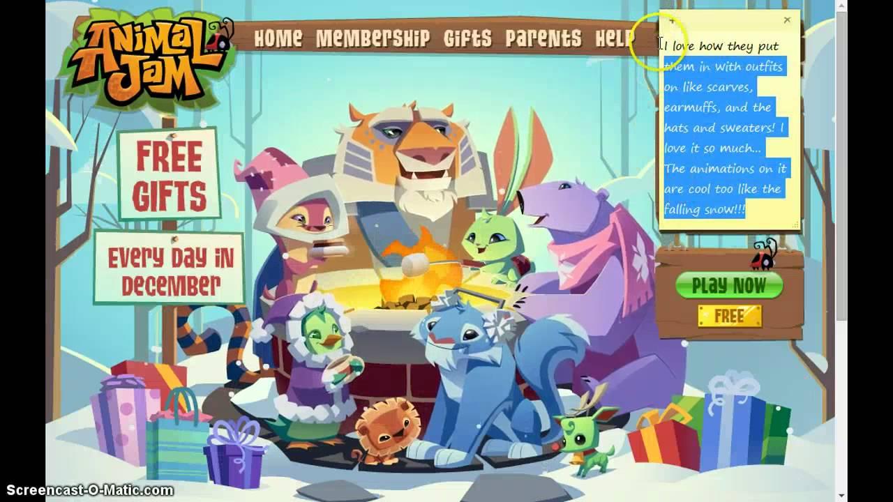 Animal jam holiday background youtube - Animal jam desktop backgrounds ...
