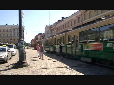 Old tram in Helsinki