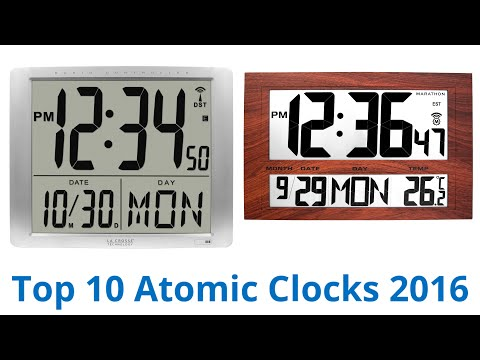 10 Best Atomic Clocks 2016