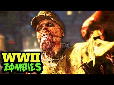 NEW WW2 ZOMBIES SECRETS: PERKS, EASTER EGGS, MYSTERY BOX, PACK A PUNCH STYLE CAMO & MORE!