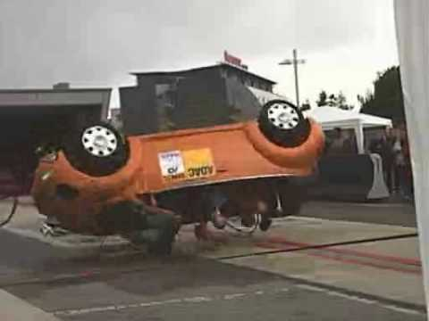 Crash Test Cappottamento Vw Beetle Esterno Youtube
