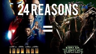 24 Reasons Iron Man & Teenage Mutant Ninja Turtles Are The Same Movie