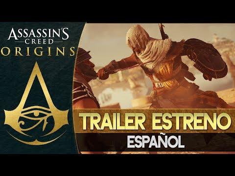 Assassin's Creed Origins   PRIMER TRAILER ESTRENO MUNDIAL ESPAÑOL   E3 Conferencia Microsoft