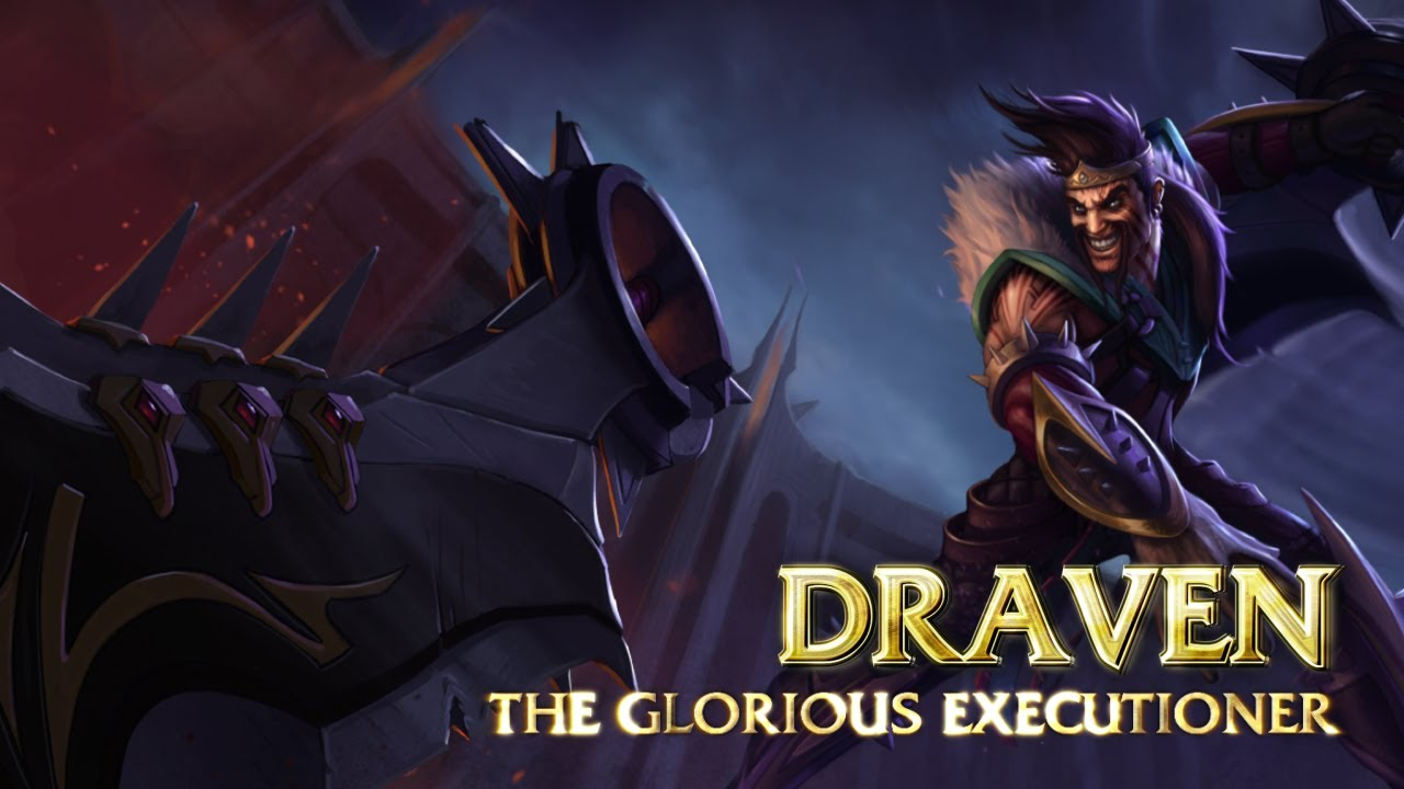 Image result for DRAVEN HERO LOL HERO ROLE