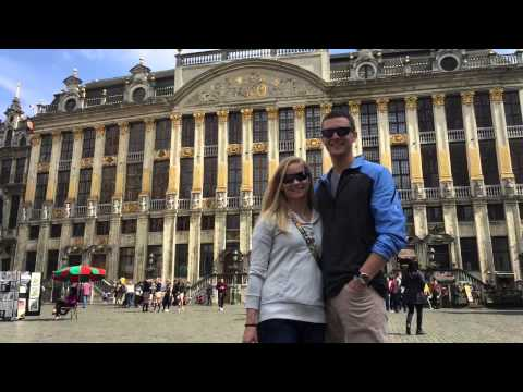 Nathan and Tiffany - Europe 2015