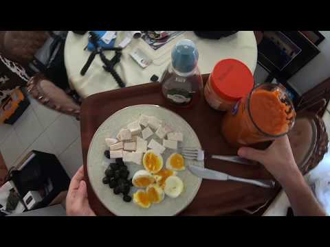 Preparing breakfast - GoPro Hero 6 POV (point of view) [note: I got way faster since then]