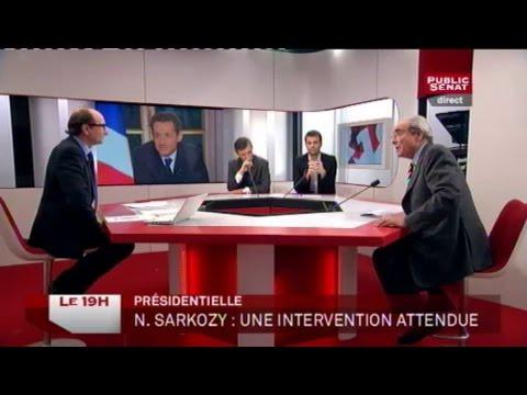 Stéphane Rozès, Alain Richard, Bernard Debré et Bruno Julliard - Le 19H (27/01/2012)