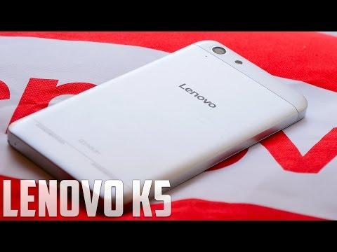 Lenovo K5, primeras impresiones