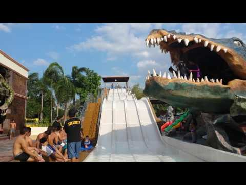 wild slide  at Caribbean bacolod city