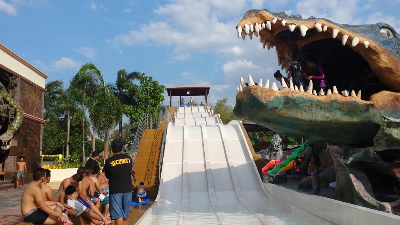 Wild Slide At Caribbean Bacolod City Youtube