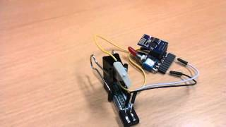 Interpreted wireless motor control by NodeMCU Telnet server running on ESP8266-01