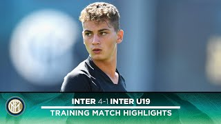 INTER 4-1 INTER PRIMAVERA | TRAINING MATCH HIGHLIGHTS | Sebastiano Esposito's brace!