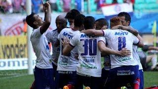 Bahia 1 X 0 América (MG). Série B 2015. Gol de Kieza. (22/8/2015)