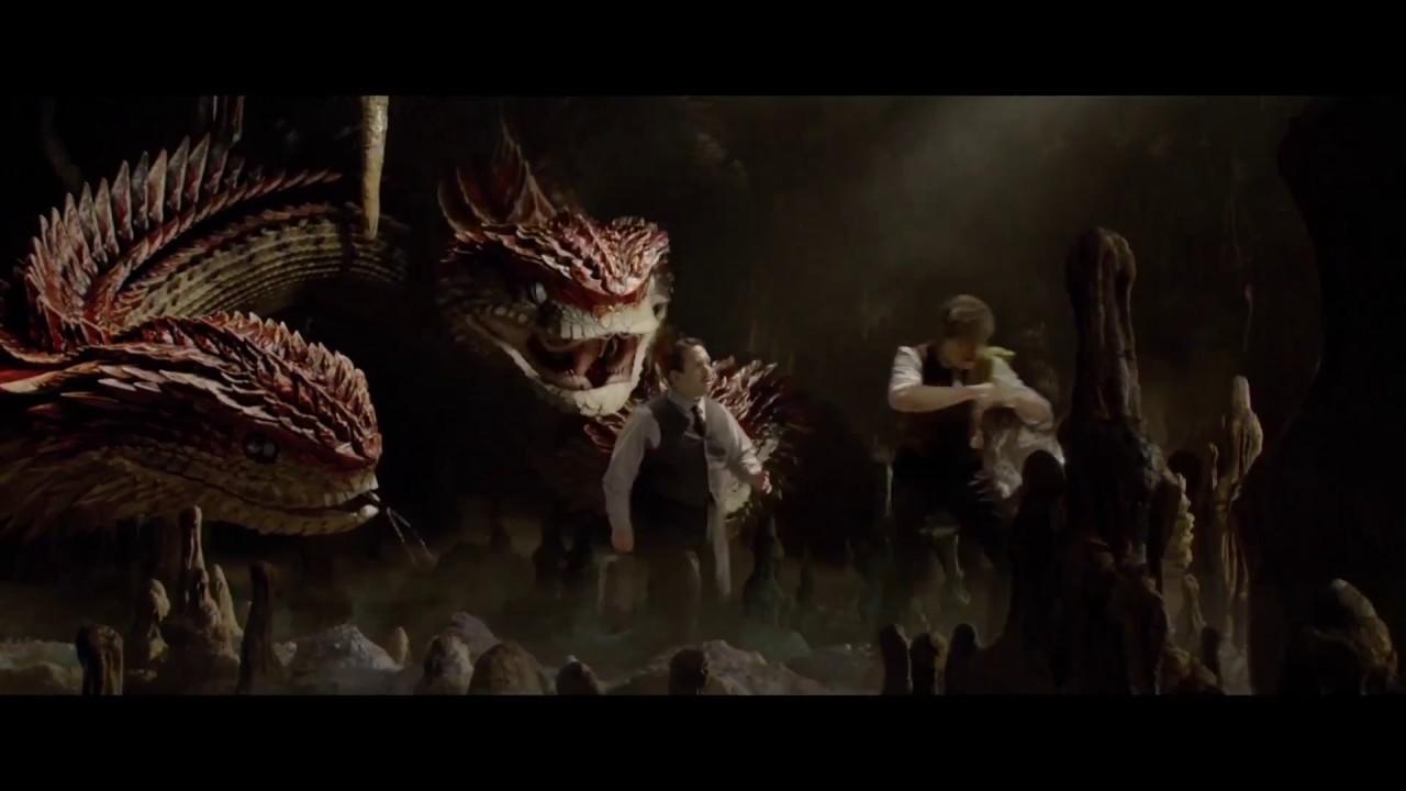 【怪獸與牠們的產地】遺珠片段──三頭蛇 - YouTube