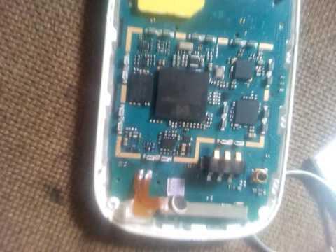 Samsung b313 lcd light solution