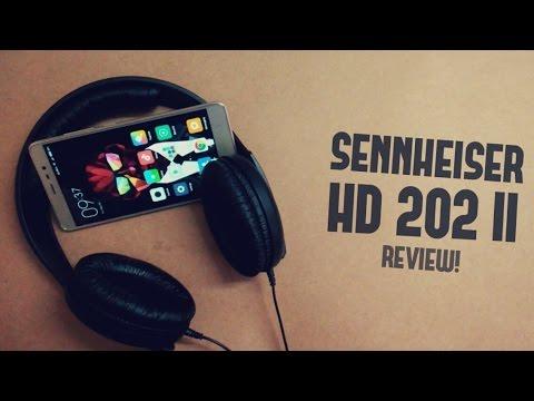 Sennheiser HD 202 II HeadPhones Review- Best Under 2000 Rs./ 30$!