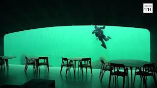 Inside Europe's first underwater restaurant