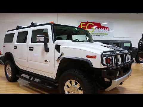 Review of s 2009 Hummer H2 Luxury For Sale~ONLY 6,457 LOW MILES~Rare 2nd Row Caption Seats