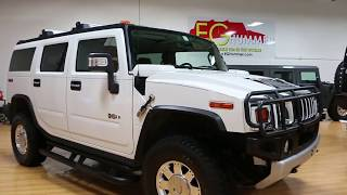 SOLD 2009 Hummer H2 Luxury For Sale~ONLY 6,457 LOW MILES~Rare 2nd Row Caption Seats