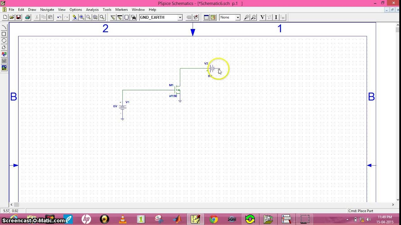 simulation of power mosfet - YouTube