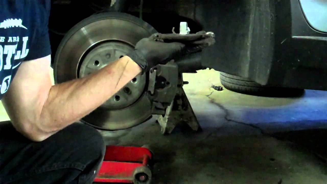 How To Change Your Brake Pads Bmw Youtube