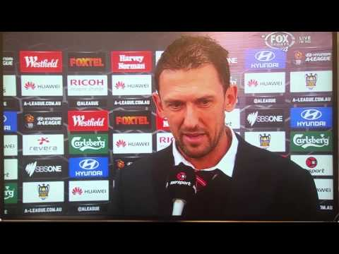 Tony Popovic Reacts to Crystal Palace Speculation