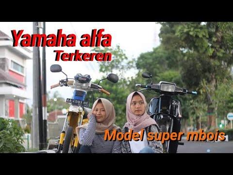 Yamaha Alfa - Inspirasi Modifikasi Masa kini (YACI)