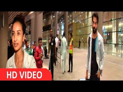 Rajkumar Rao & Patralekha Spotted At Airport