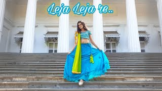Leja Leja Re   Dhruvi Shah Dance   Wedding Choreography   Easy steps